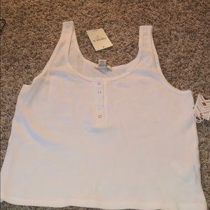 White tank top from forever 21!!!
